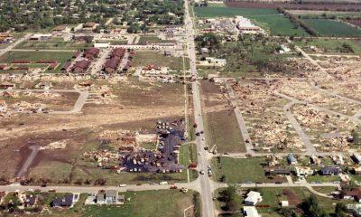 1991 Andover Tornado Ariel View