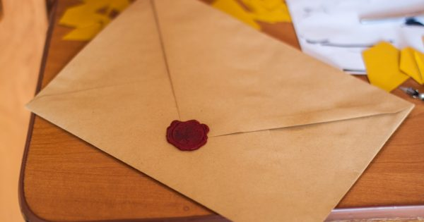 Brown Paper Envelope On Table 211290
