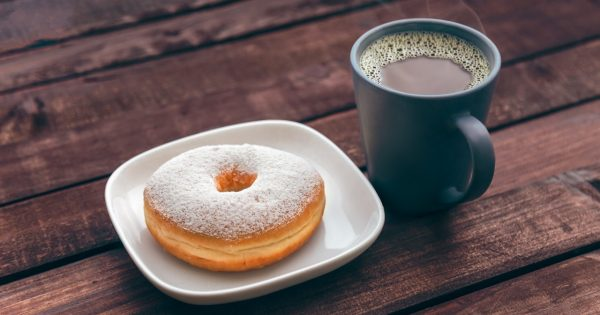 Coffee Mug Dougnut