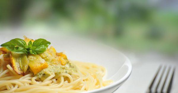 Food Plate Yellow Spaghetti 64208