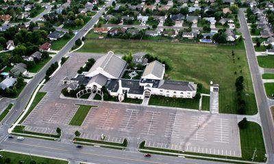 St Vincent De Paul 1993 Arial View